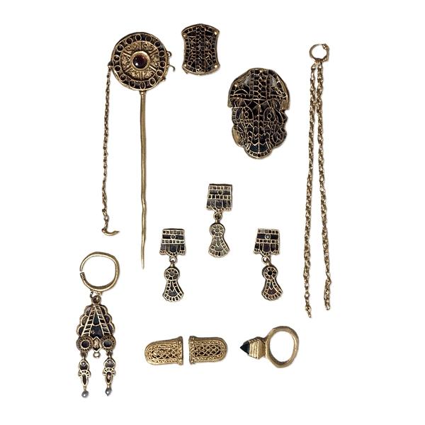Parti del tesoro di Domagnano conservate al British Museum