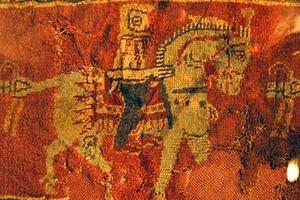 Dettaglio di cavaliere dal Tappeto di Pazyryk