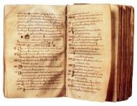 Paolo Diacono, Historia Longobardorum, VIII secolo (Cividale del Friuli, Museo archeologico nazionale).