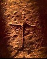 La croce all'interno di Maeshowe