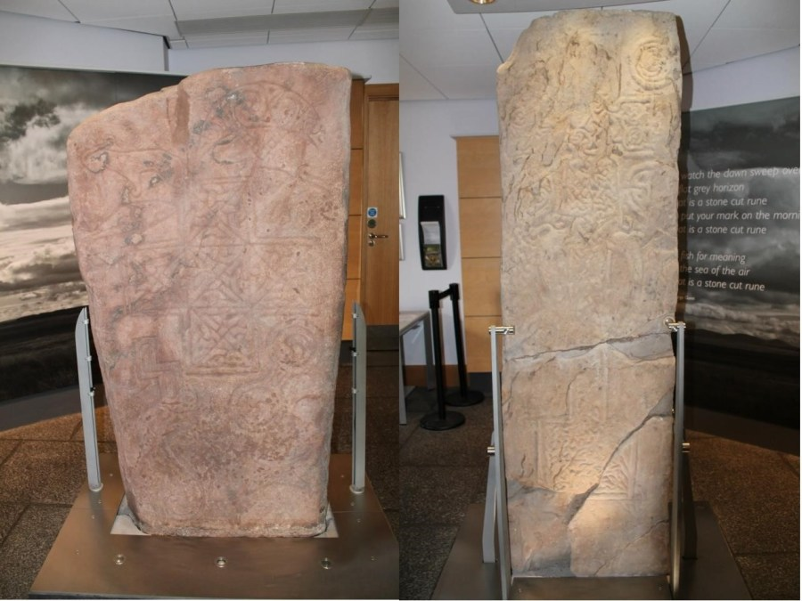 Ulber Stone e Skinnet Stone al Caithness Horizons Museum di Thurso (Foto di Erica Innocenzi)