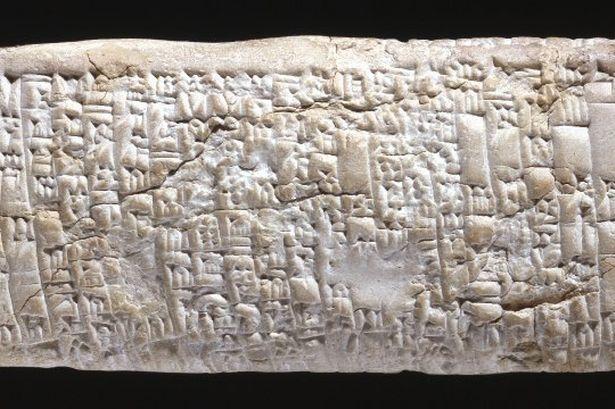 Tavoletta con lamentele di un cliente truffato (Foto: British Museum)