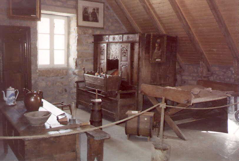 Interno di casa bretone (Foto: M. Franzoni)