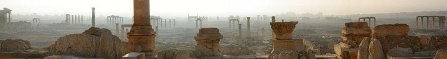 Palmira all'alba (Foto: wikipedia)