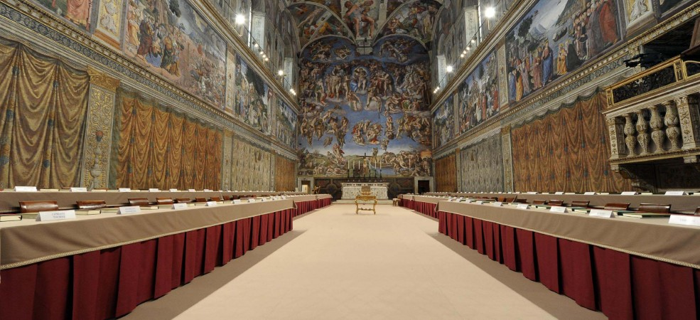Il tour virtuale della cappella sistina la storia viva for Decorazione quattrocentesca della cappella sistina