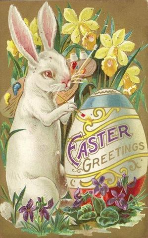 Coniglio pasquale nelle tradizioni tedesca e americana
