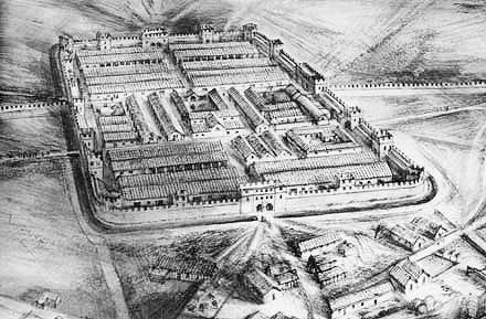 Ricostruzione della fortezza legionaria di Viminacium