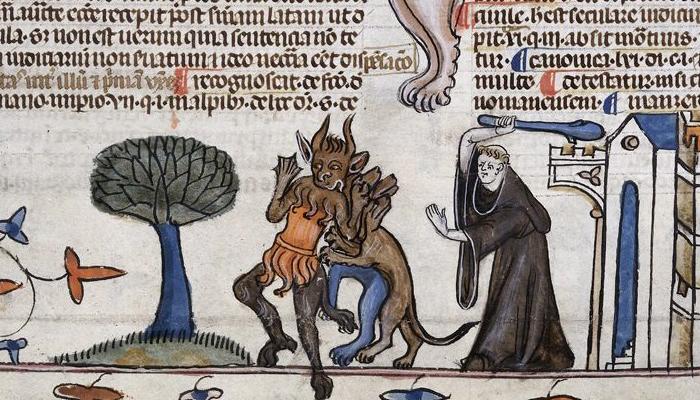 Monaco contro i diavoli (1330-40)