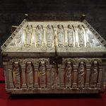 Cofanetto in legno, osso e bronzo dorato, circa 1200, Colonia, Musée de Cluny (Foto: La Storia Viva)