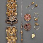 Vista d'insieme dal catalogo della mostra Les temps Merovingiens