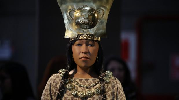 Il volto ricostruito della Signora di Cao, Cultura Moche, Perù