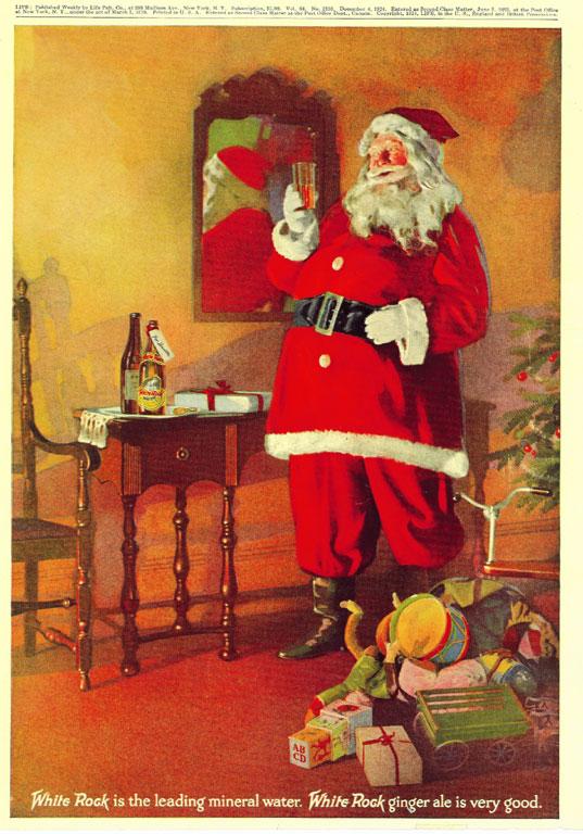 Pubblicità del 1923 per la White Rock, Wisconsin