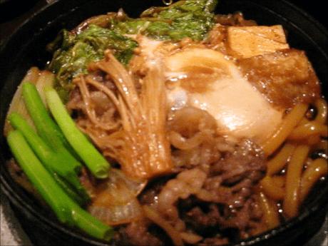 すき焼き鍋ランチ7