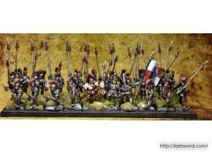 Compañia-Alcatani-Fellowship-Mercenarios-Dogs-War-Warhammer-Fantasy-Pikerman-Piqueros-01