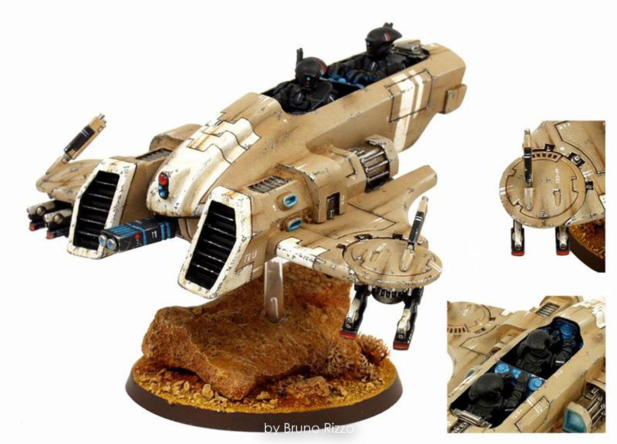 Empire-Ejercito-Tau-Bruno-Rizzo-Warhammer 40000-40k-Piranha-02