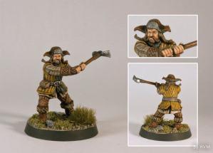 Thorin-compañía-company-escudo-roble-oakenshield-Hobbit-Bofur