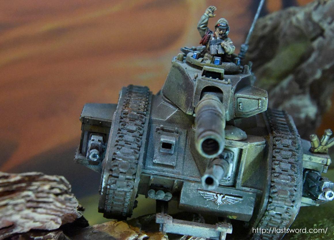 Leman Russ Guardia Imperial Astra Militarum Taros