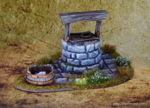 Pozo-Warhammer-Water-Well-Fantasy-Scenery-Mordheim-1650-Modelling-How-Scultp-08