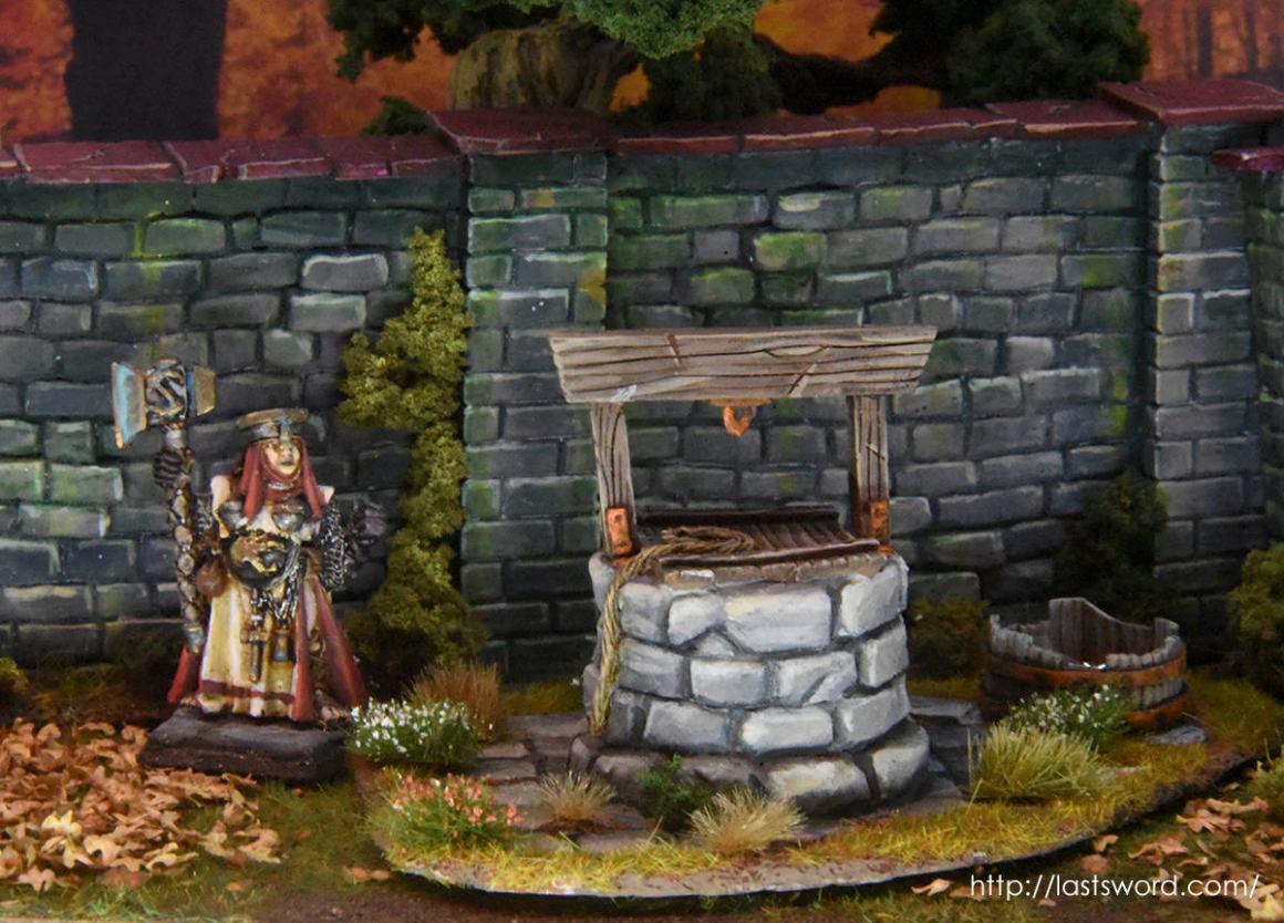 Pozo de agua para Mordheim y Warhammer Fantasy