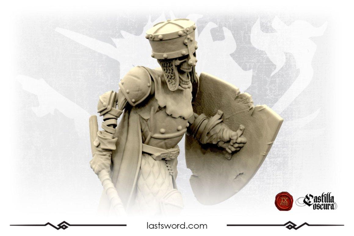 Undeads  Fallen County of Ampurias | Last Sword Miniatures