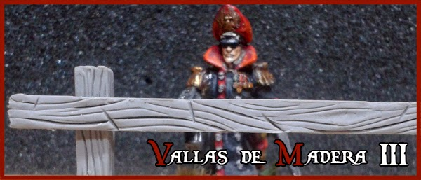 Super-Sculpey-Clay-Masilla-Portada-Valla-Madera-Peana-Wooden-Fence-Base-Warhammer-Scenery-Escenografia-Wargames