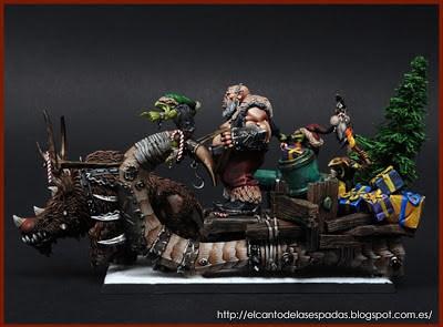 Navidad-Ogro-Claus-Trineo