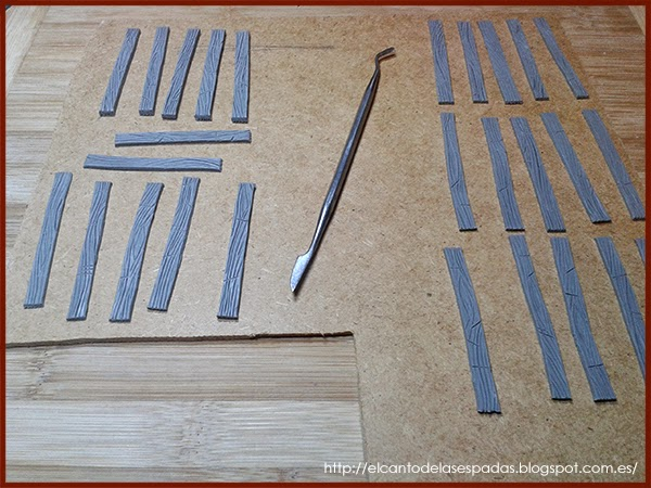 Super-Sculpey-Firm-Clay-Masilla-Techumbre-Roofing-Tejado-Rooftop-Stable-Stall-Establo-Escenografía-1650-Warhammer-Mordheim-Scenery-08