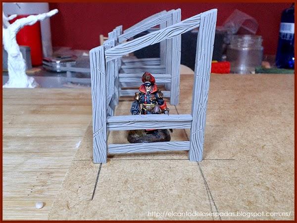 Super-Sculpey-Firm-Clay-Masilla-Techumbre-Roofing-Tejado-Rooftop-Stable-Stall-Establo-Escenografía-1650-Warhammer-Mordheim-Scenery-05
