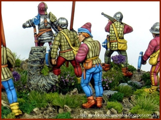 mercenarios-escoceses-scots-mercenaries-perry-miniatures-capitan-Blood-pikes-piqueros-5