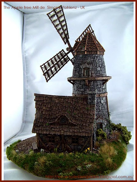 Tabletop-World-Concurso-Ganadores-Winners-warhammer-Scenery-The-Apple-tree-Mill-molino-2