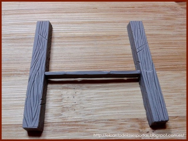 Super-Sculpey-Firm-Clay-Establo-Stable-Stall-Escenografía-1650-Warhammer-Mordheim-Scenery-01