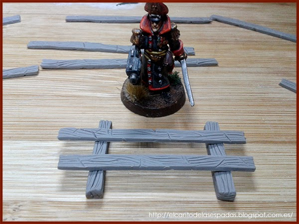 Super-Sculpey-Firm-Valla-Madera-Wooden-Fence-Warhammer-Scenery-Escenografia-Wargames-10