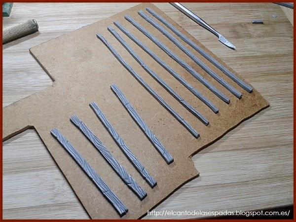 Super-Sculpey-Firm-Clay-Masilla-Techumbre-Roofing-Tejado-Rooftop-Stable-Stall-Establo-Escenografía-1650-Warhammer-Mordheim-Scenery-01