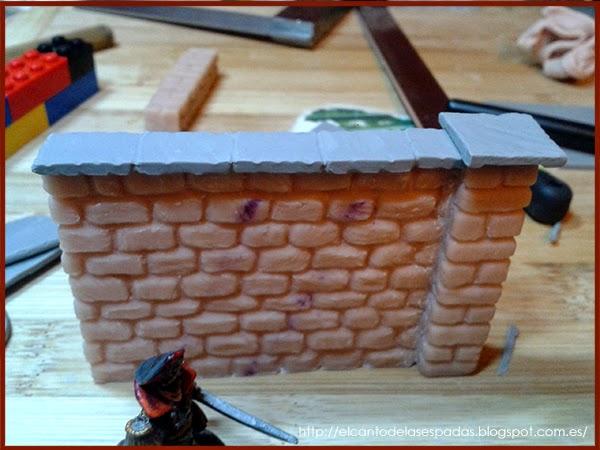 SuperSculpey-Piedra-Muro-Columna-Pillar-alto-Wall-High-Stone-Wargames-Warhammer-Escenografia-Scenery-Bolt-FOW-10