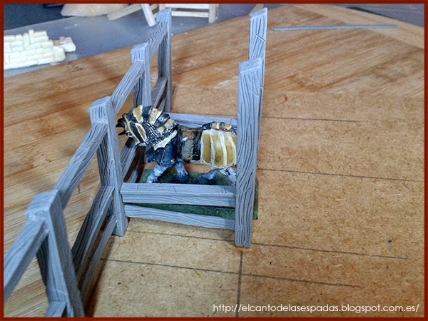 Super-Sculpey-Firm-Clay-Establo-Stable-Stall-Escenografía-1650-Warhammer-Mordheim-Scenery-06