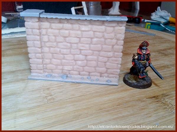 Super-Sculpey-Masilla-Clay-Base-Piedra-Muro-alto-Wall-High-Stone-Wargames-Warhammer-Escenografia-Scenery-Bolt-FOW-10