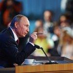 Пресс-конференция Владимира Путина. Основные высказывания