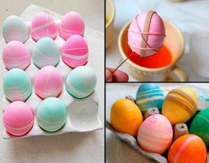 Способы покрасить яйца на пасху, идеи как покрасить яйца на пасху, идеи для пасхальных яиц