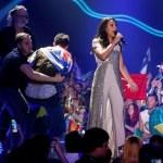 Пранкстер снял штаны в прямом эфире Евровидения 2017. Смотреть видео