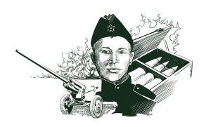 Андрей Корзун герой ВОВ, герои Великой Отечественной войны, подвиги Великой отечественной войны, герои Второй Мировой войны
