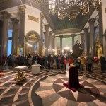 В Казанском соборе Петербурга освятили орла. Видео