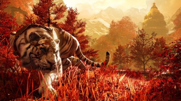 The Sky Tiger who joins players in their missions in Shangri-La