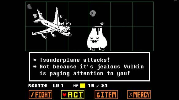 There is also the tsunderplane.