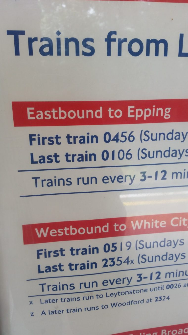 20160722 122639 e1469441711294 - Last Train Eastbound to Epping from Loughton