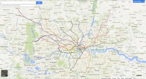 YIiI23j - New Geographically Accurate London Underground Map Shows Tube, Overground, DLR & Tramlink
