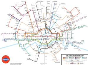 circular tube map