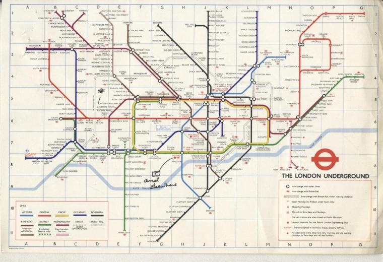 maps 3 1024x701 - Remarkable old Tube maps show how London Underground network has changed over the past 100 years