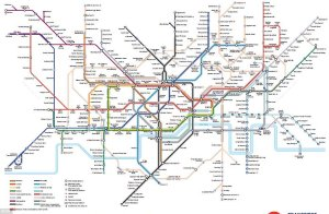 4BD8675F00000578 0 image m 15 1525431861756 - Tube map highlights the routes that aren't in tunnels