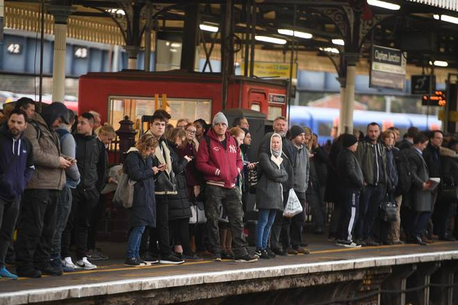 an134591235train strike day - Britain's most popular train stations... and two London hubs top the list