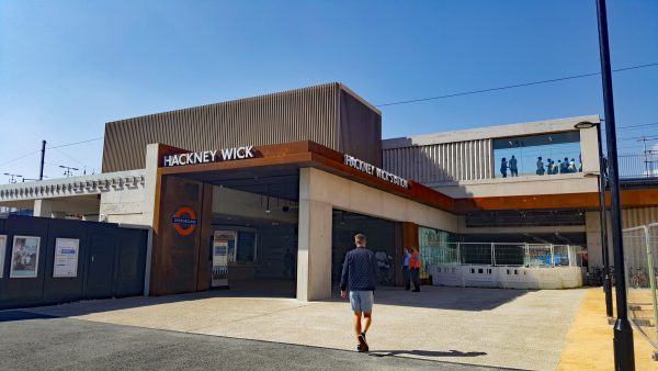 hackney wick station 15 600x338 - Hackney Wick's brutalist new London Overground station opens